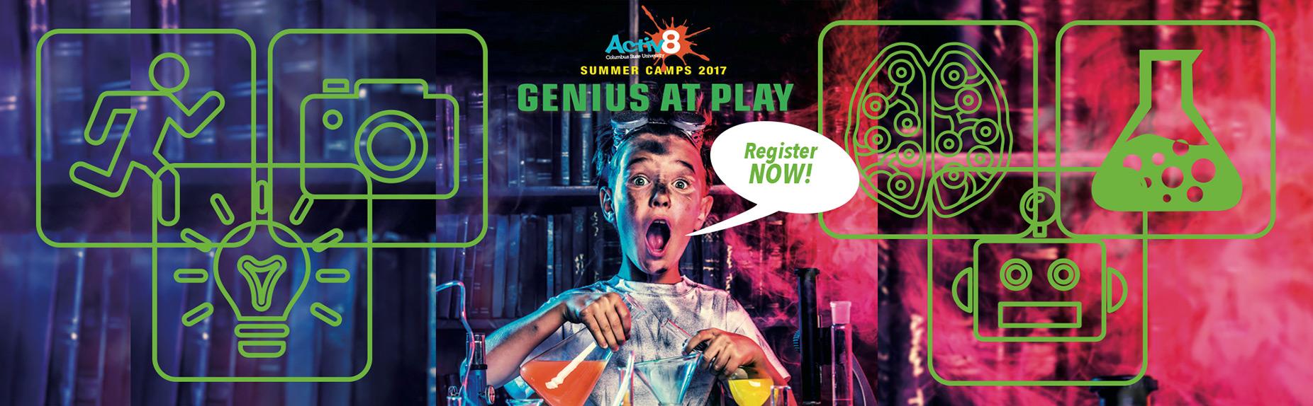 Activ8 STEAM Summer Camp 2017 Enrollment